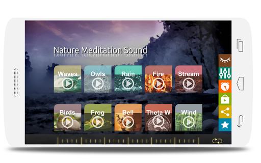 自然冥想的聲音