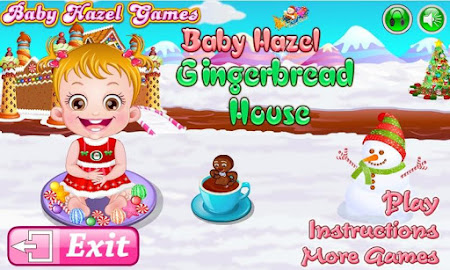 Baby Hazel Gingerbread House 6 screenshot 639479