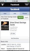 Screenshot of Dixie Direct