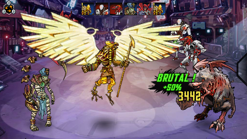 android Mutants: Genetic Gladiators Screenshot 5