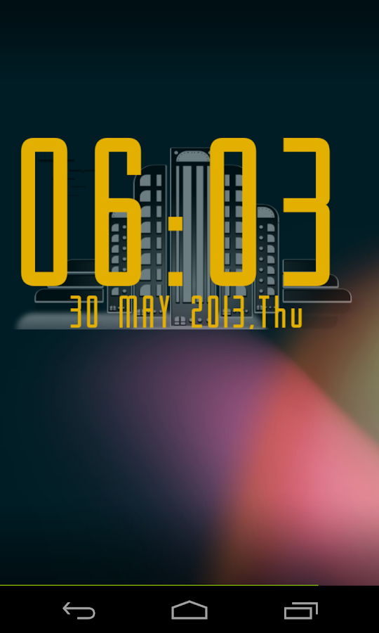 art deco clock uccw android apps on google play