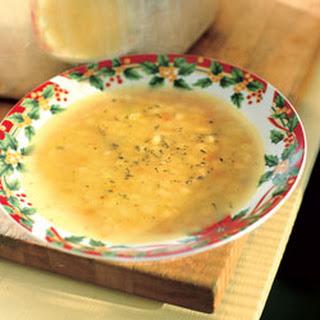 Yellow Pea Soup.
