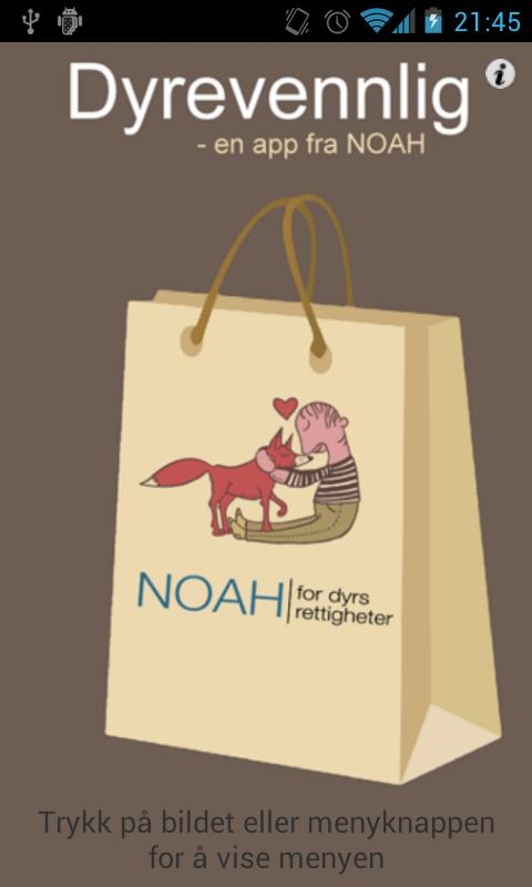 NOAH dyrevennlig - screenshot