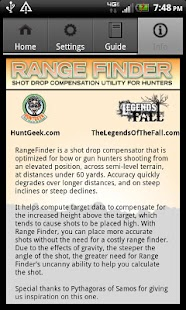 RangeFinder Shooting Utility