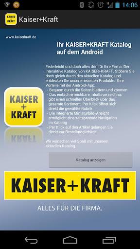 Kaiser+Kraft Katalog