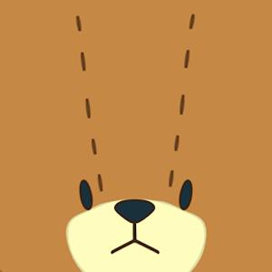 Cartoon Teddy Bear Twins
