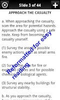 Screenshot of Army Combat Lifesaver