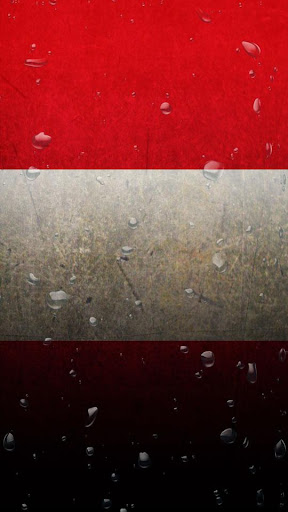 Peru flag water effect LWP