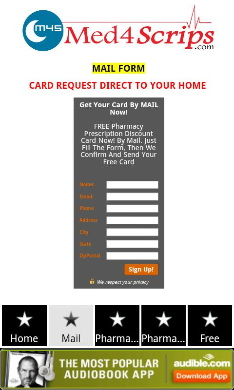 Free Prescription Rx Card - screenshot