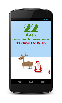 New Year Countdown Widget - screenshot