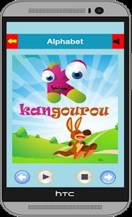 French Alphabet screenshot