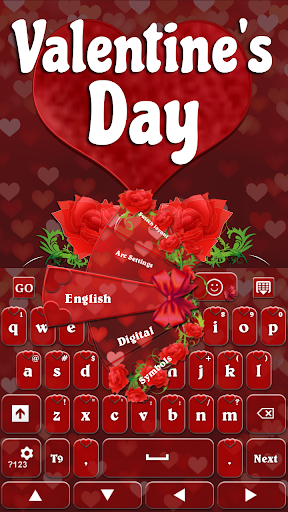 GO Keyboard Valentine's Day