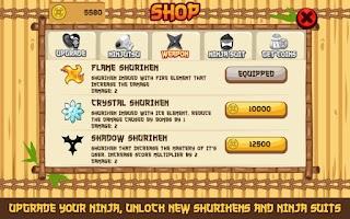 Screenshot of Shuriken Strike: Ninja Master