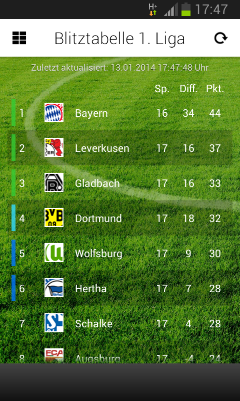 TorAlarm Fussball Live - screenshot