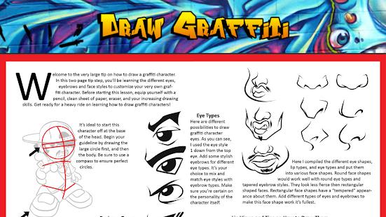 玩免費教育APP|下載How to Draw Graffiti app不用錢|硬是要APP