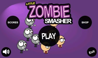 Screenshot of Little Zombie Smasher