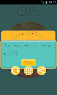 Eat the pizza - screenshot thumbnail