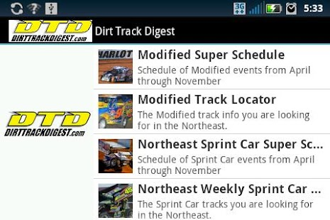 Dirt Track Digest- screenshot thumbnail