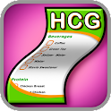 HCG Diet Shopping List icon