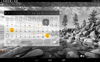 Screenshot of Khmer Keyboard plugin