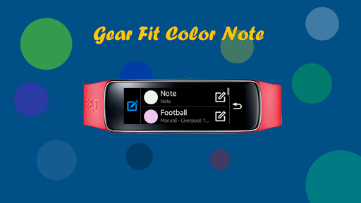 Gear Fit Color Note