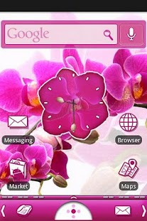 Orchid Theme - screenshot thumbnail