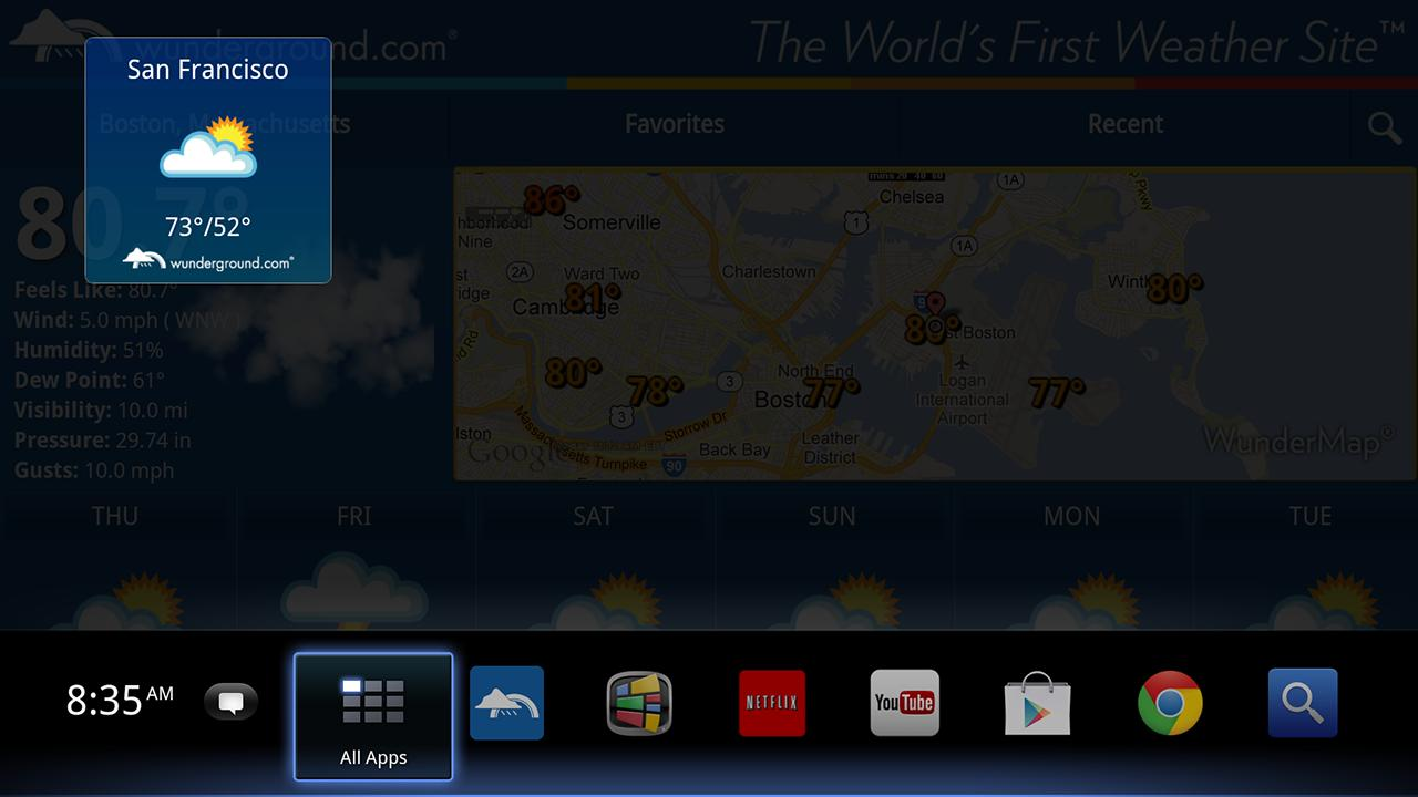 Weather Underground TV - screenshot