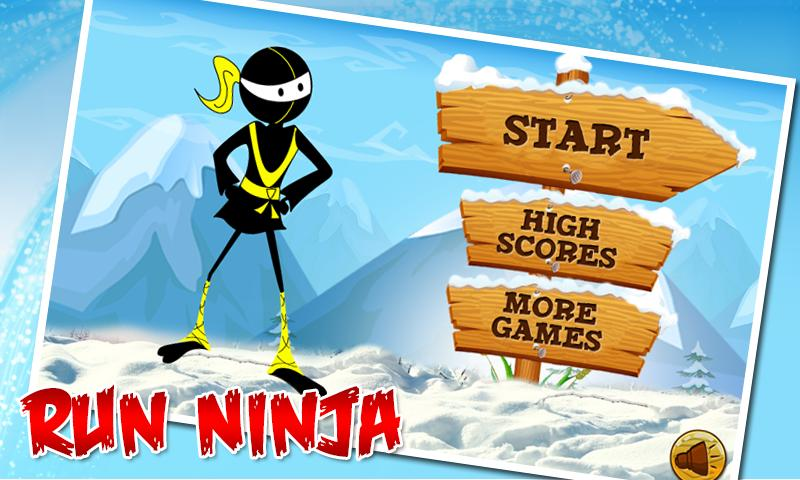 Angry Ninja - Running Games- screenshot