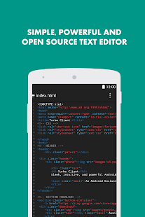 Turbo Editor PRO (Text Editor)- screenshot thumbnail