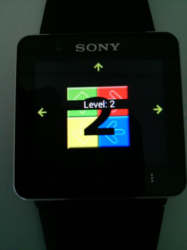 Simon Game for SmartWatch 2