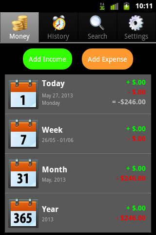 Money Manager- screenshot