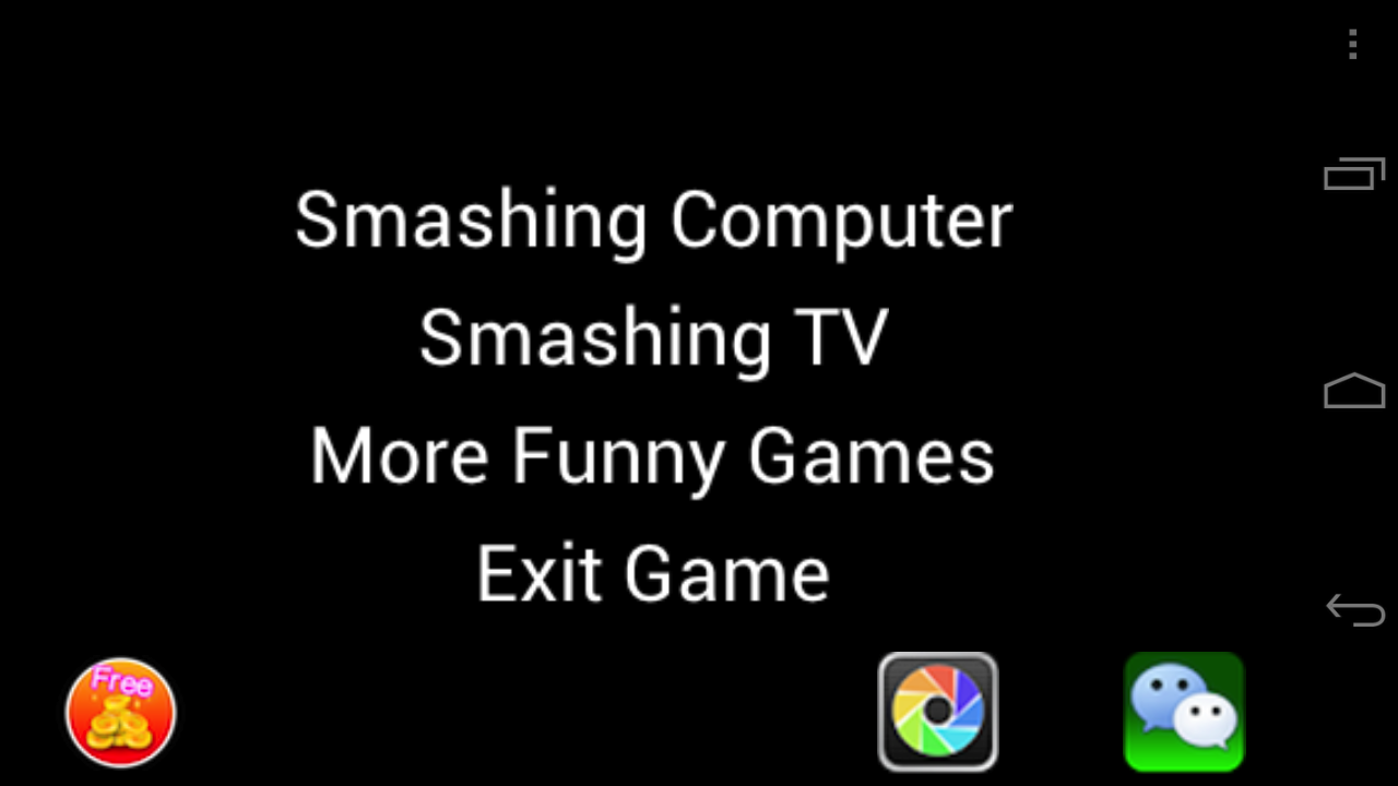 Crazy Smashing Computer- screenshot