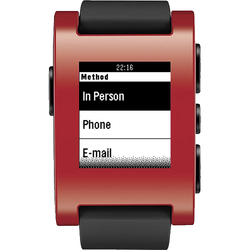 Contrack for Pebble- screenshot