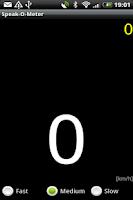 Screenshot of SpeakOMeter