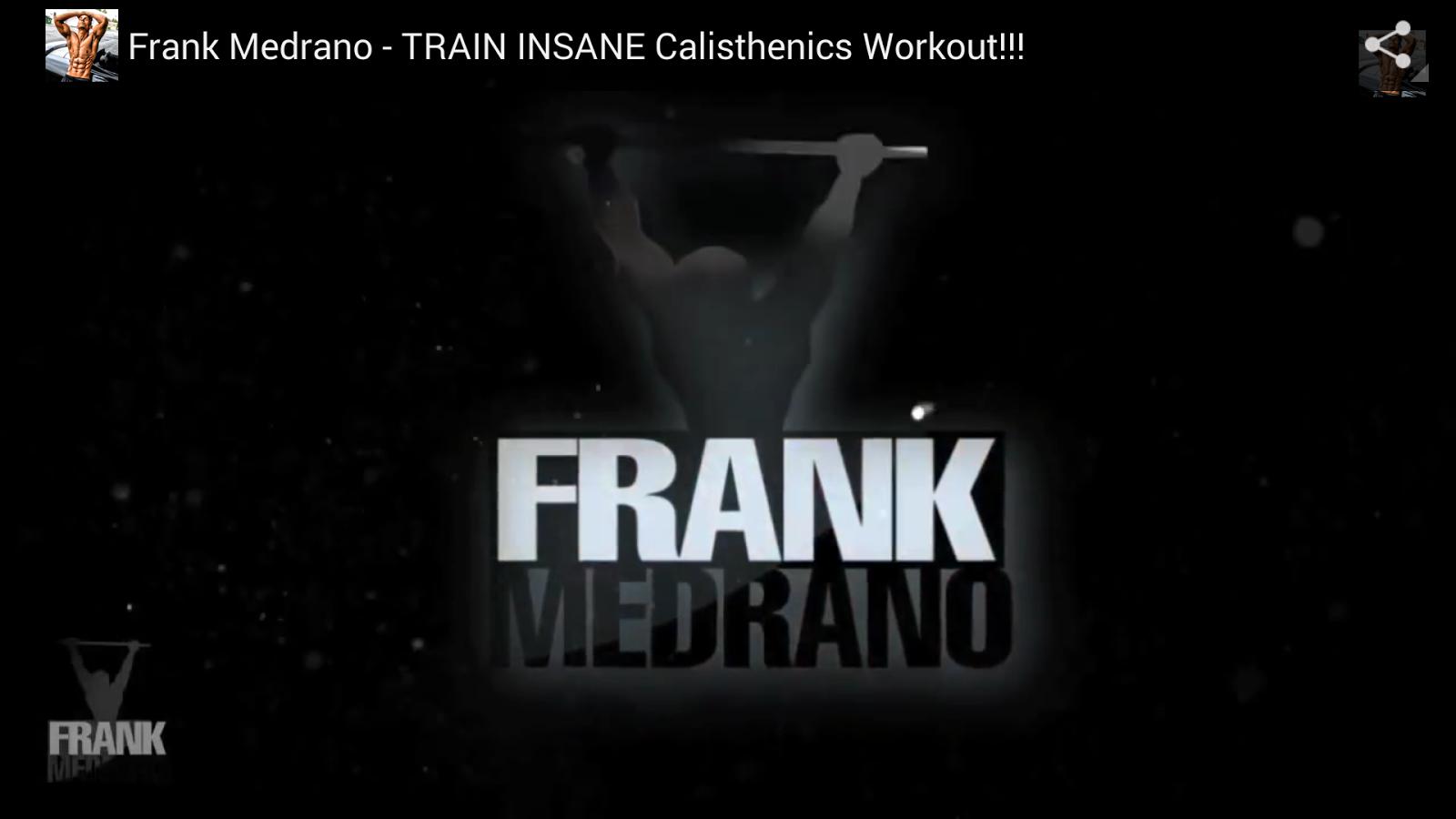 FRANK MEDRANO FITNESS Screenshot