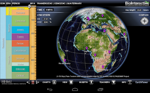 BioInteractive EarthViewer - screenshot thumbnail