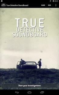 True Detective Soundboard Free