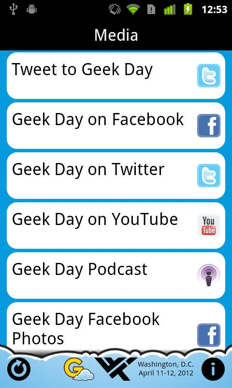 Geek Day 2012- screenshot