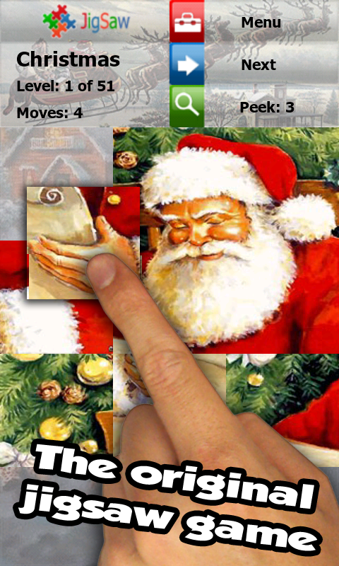 Christmas Puzzle Game: Jigsaw- screenshot