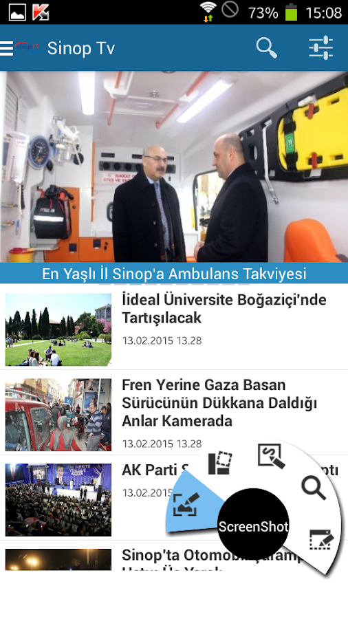 Sinop Tv , Sinop Haber- screenshot