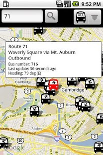 BostonBusMap- screenshot thumbnail