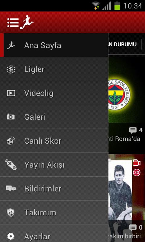 Lig TV - screenshot