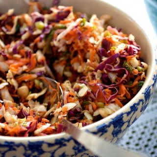 Asian Inspired Coleslaw.