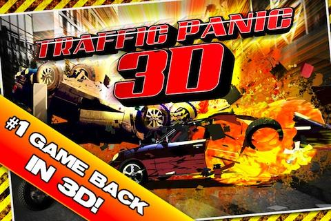 Traffic Panic 3D- screenshot