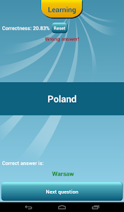 Countries Capitals Quiz - screenshot thumbnail