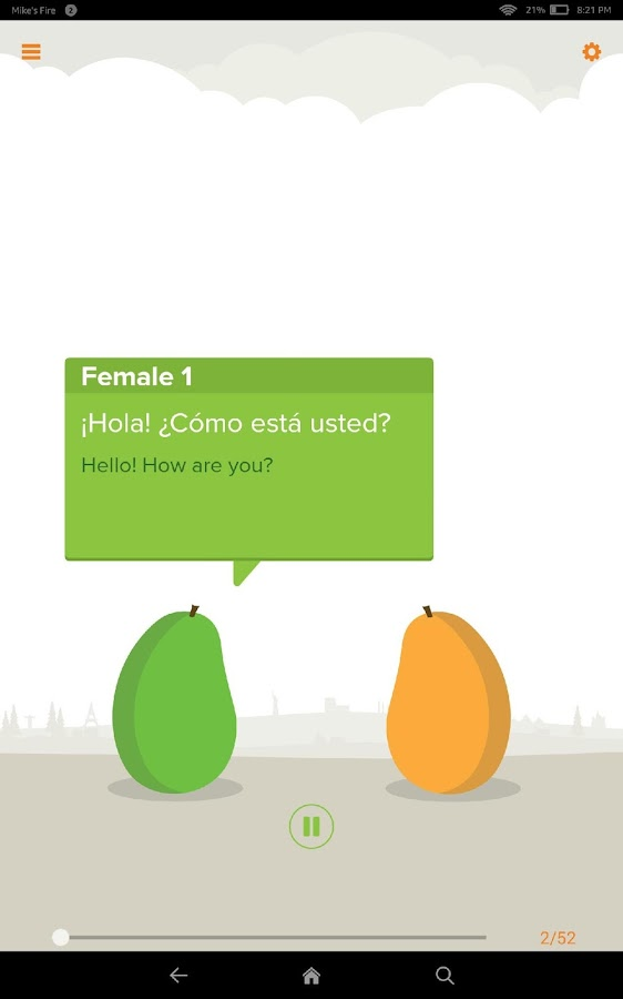 Mango Languages- screenshot