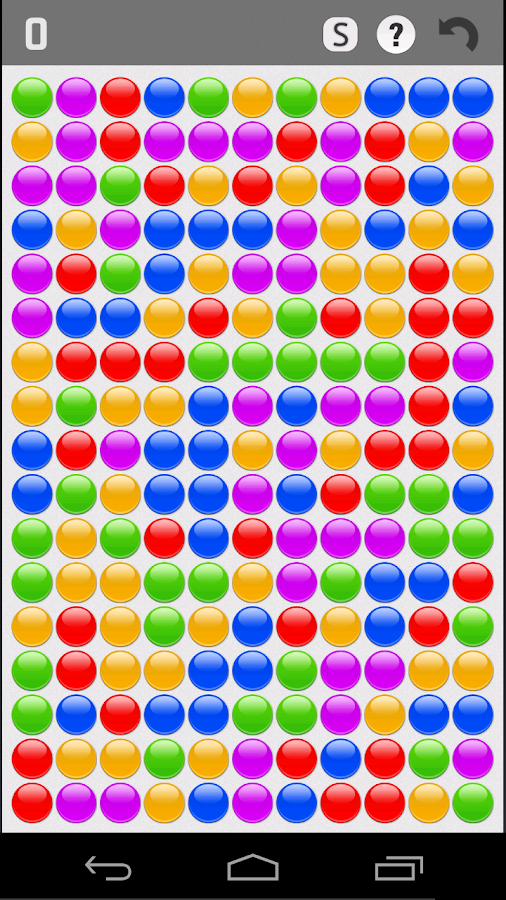 Bubble Breaker- screenshot