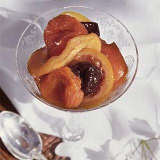 Vanilla-Fruit Compote