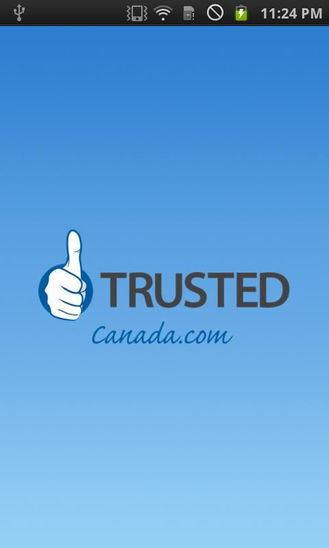 Trusted Canada- screenshot