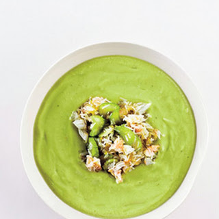 Avocado and Crab Soup